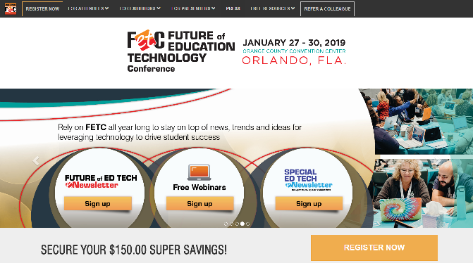 FETC Future of Education Technology 2019