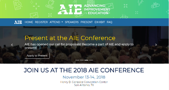 AIE Conference 2018