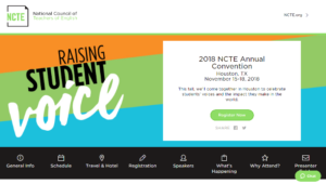 2018 NCTE Annual Convention