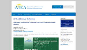 AIEA Annual Conference 2019