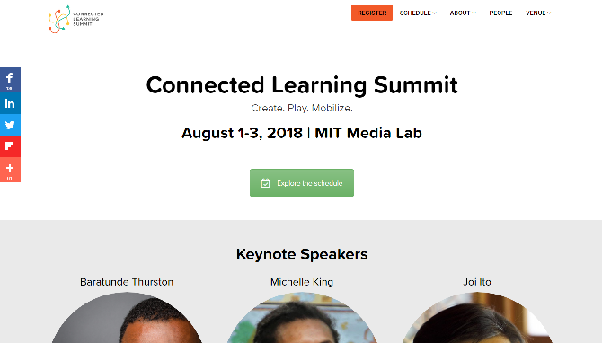 Connected Learning Summit 2018