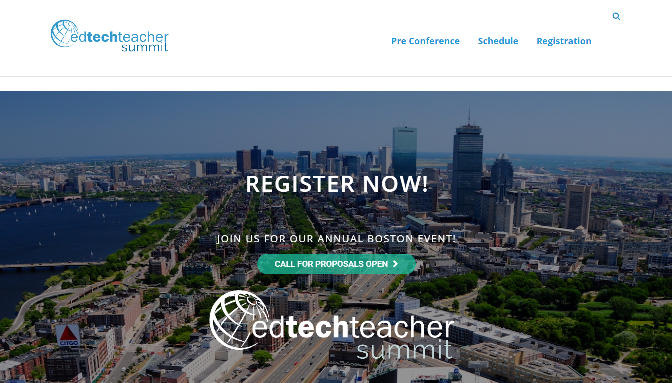 EdTechTeacher Summit 2018