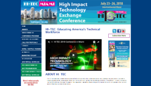 HI-TEC 2018 High Impact Technology Exchange Conference
