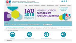 IAU 2018 International Conference