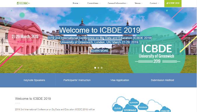ICBDE 2019