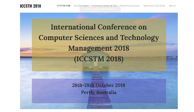 ICCSTM 2018