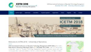 ICETM 2018