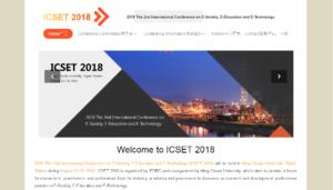 ICSET 2018
