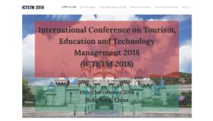 ICTETM 2018
