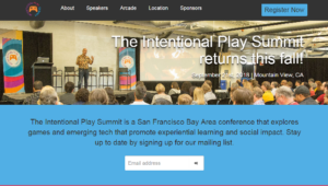 Intentional Play Summit 2018