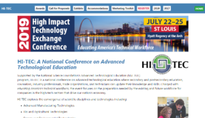 HI-TEC 2019 High Impact Technology Exchange Conference St. Louis, MO