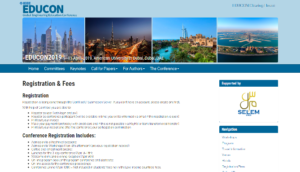IEEE EDUCON 2019 Dubai, UAE