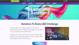 Learning Solution Conference and Expo 2019 Orlando, FL