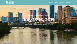 NACUBO 2019 National Association of College and University Business Officers Annual Meeting Austin, TX