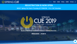 Spring CUE 2019 Palm Springs, CA