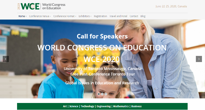 World Congress on Education 2020