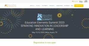 Education Elements Summit 2020