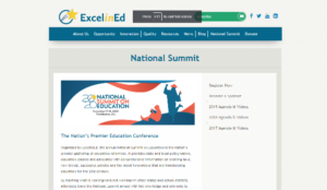 National Summit on Education 2020