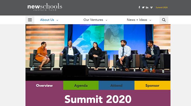 NewSchools Summit 2020
