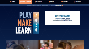 Play Make Learn 2020
