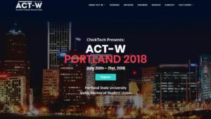 ACT-W Portland 2018