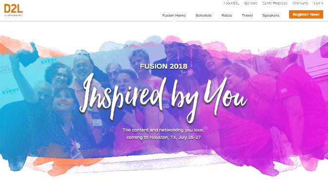 D2L Fusion 2018