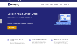 EdTech Asia Summit 2018