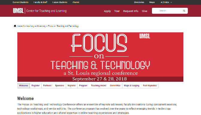 FTTC 2018 Focus on Teaching and Technology Conference