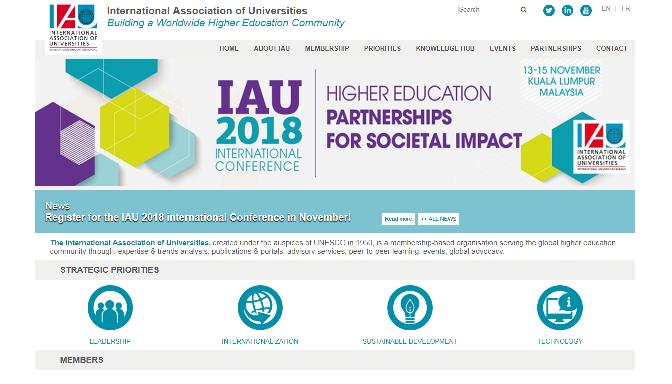 IAU 2018 International Conference