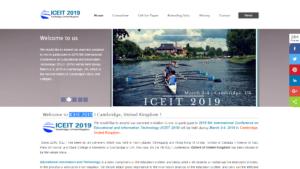 ICEIT 2019