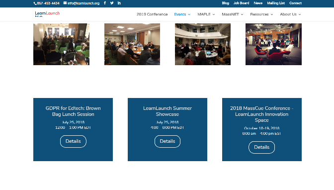 MassCue Conference - LearnLaunch Innovation Space 2018