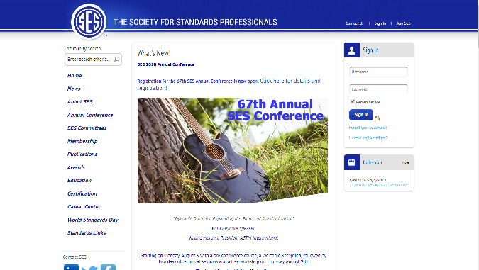 SES 2018 Annual Conference
