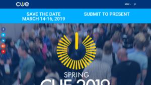 Spring CUE 2019