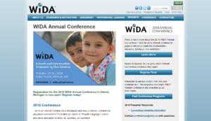 WIDA 2018 Annual Conference