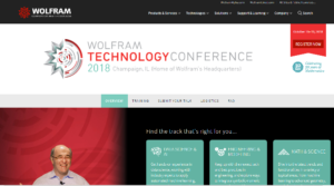 Wolfram Technology Conference 2018