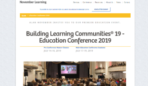 BLC 2019 Building Learning Communities Education Conference Boston, MA