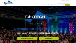 EduTECH Asia 2019 Singapore