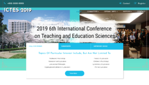 ICTES 2019 INTERNATIONAL CONFERENCE ON TEACHING AND EDUCATION SCIENCES Nagoya, Japan