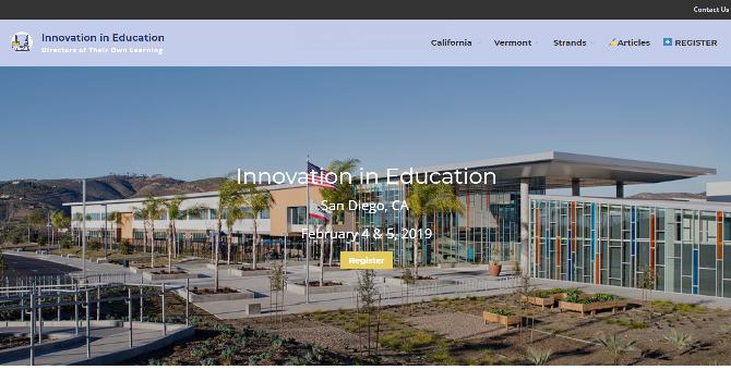 Innovation in Education 2019 San Diego, CA