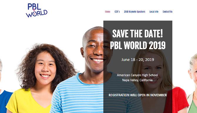 PBL World 2019 Napa Valley, CA