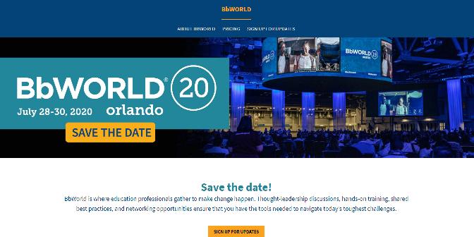 BbWorld 2020