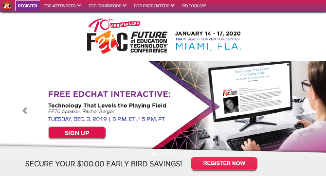 Future of Education Technology® Conference