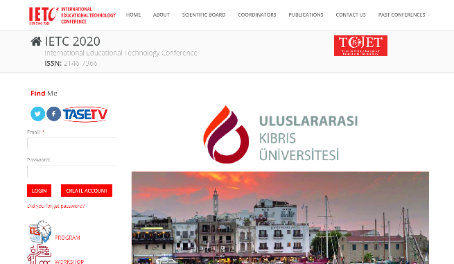 International Educational Technology Conference 2020
