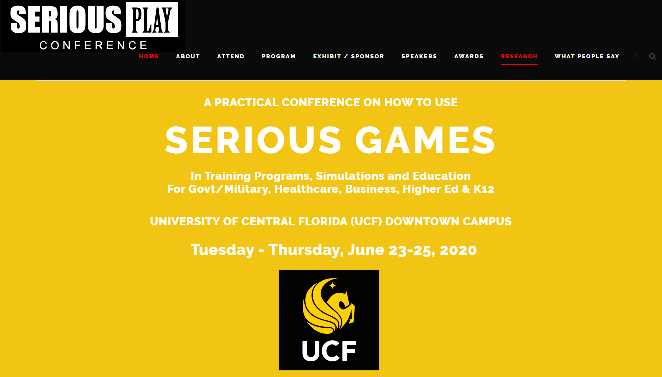 Serious Play Conference 2020