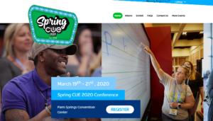 Spring CUE 2020