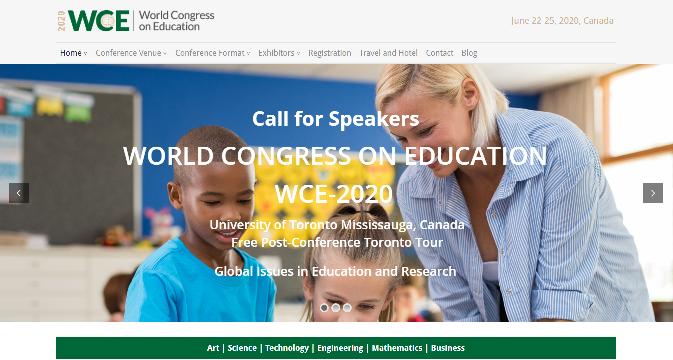 World Congress on Education 2020