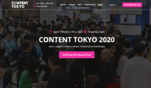 CONTENT TOKYO 2020