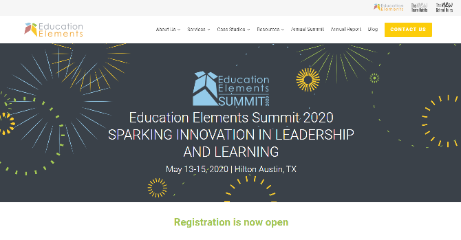 Education Elements Summit 2020