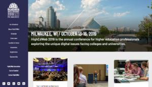 HighEdWeb 2019