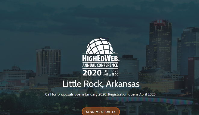 HighEdWeb Annual Conference 2020